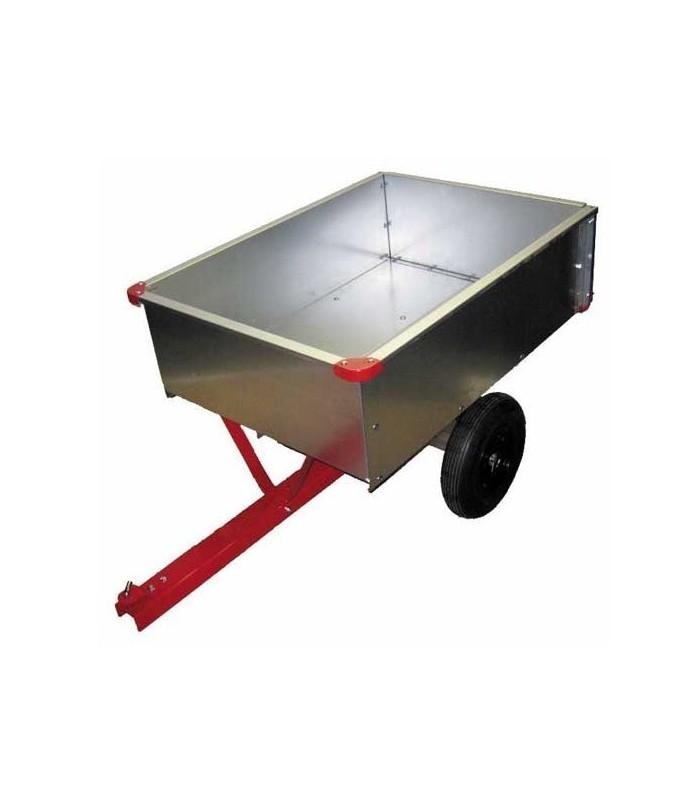Sentar tc3080d ga remorque pour tracteur tondeuse - Remorque de jardin pour autoportee ...