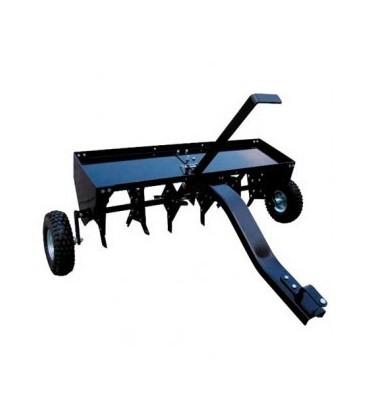 Aérateur tracté SENTAR SP 31101 pour tracteur tondeuse autoportée