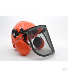 ROCKMAN 2506FW Casque avec Protège-oreilles et visière